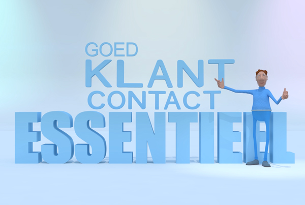 Klantcontact is essentieel